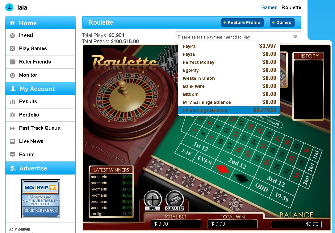 jugar y ganar dinero
