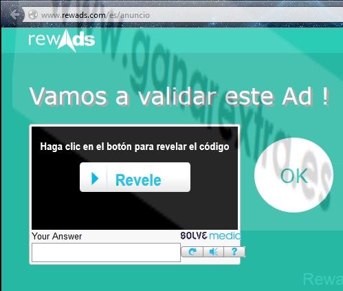validar ad rewads