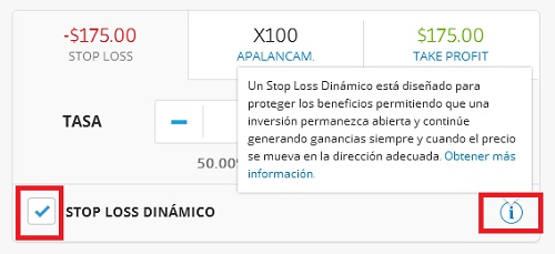 stop loss dinamico etoro