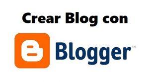 crear blog con blogger