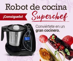 sorteo robot cocina
