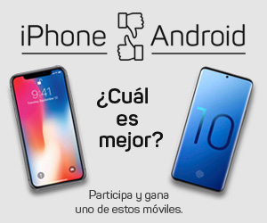 Sorteo iphone android