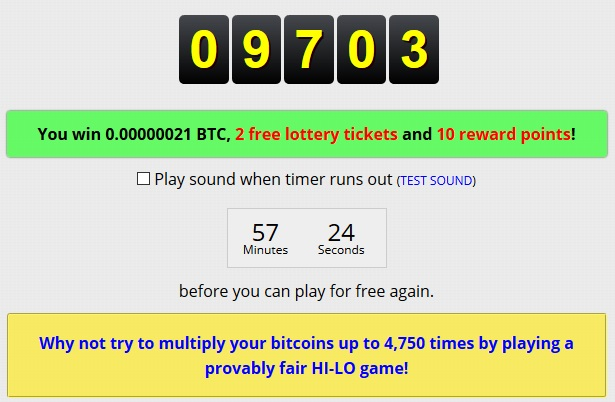 ganar lucky number freebitcoin