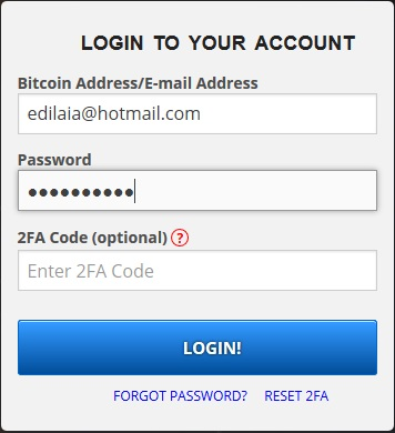login freebitcoin
