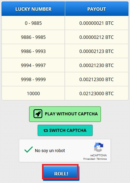 lucky number freebitcoin